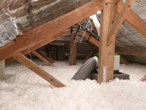 isolation des combles déperdition thermiques